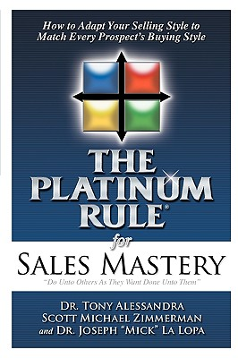 Image for The Platinum Rule for Sales Mastery