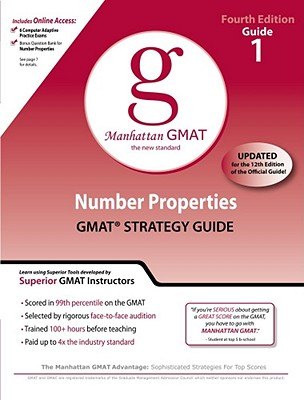 Image for Number Properties GMAT Strategy Guide, 4th Edition (Manhattan GMAT Preparation Guides)
