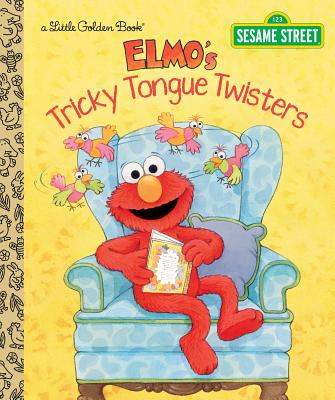 Image for Elmo's Tricky Tongue Twisters (Sesame Street) (Little Golden Book)