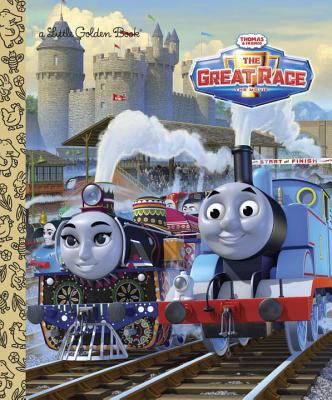 Thomas & Friends The Great Race (Thomas & Friends) (Little Golden Book), Golden Books
