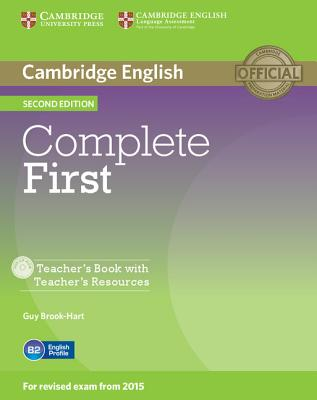 Image for Complete First Teacher's Book with Teacher's Resources CD-ROM