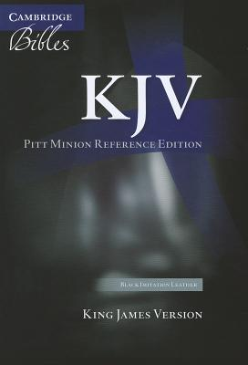 Image for KJV Pitt Minion Reference Edition KJ442:X black imitation leather