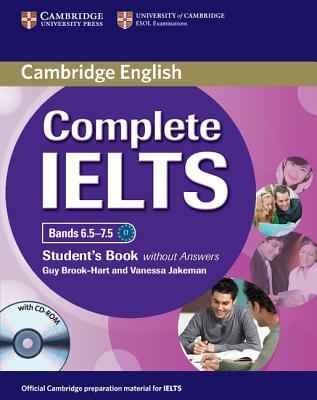 Image for Complete IELTS Bands 6.5-7.5 Student's Book without Answers with CD-ROM