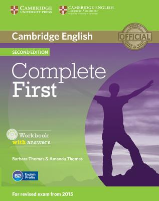 Image for Complete First Workbook with Answers with Audio CD