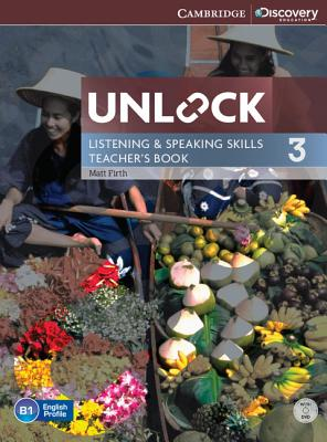 Image for Unlock Level 3 Listening and Speaking Skills Teacher's Book with DVD