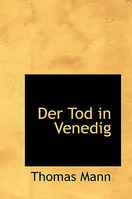 Image for Der Tod in Venedig (German Edition)