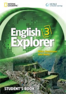 Image for English Explorer 3 Student's Book