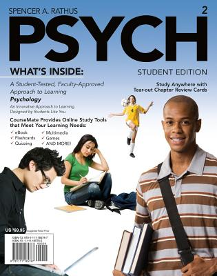 PSYCH, Spencer A. Rathus (Author)