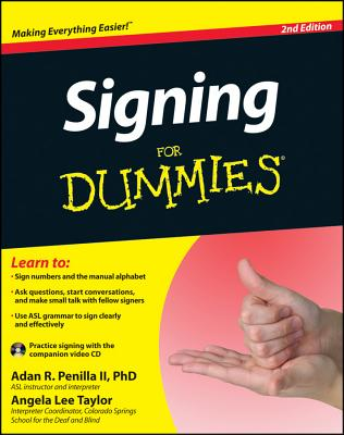 Image for Signing For Dummies (For Dummies (Language & Literature))