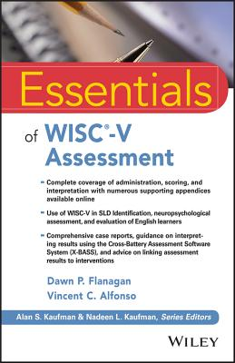 Image for Essentials of WISC-V Assessment (Essentials of Psychological Assessment)