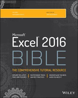 Excel 2016 Bible, Walkenbach
