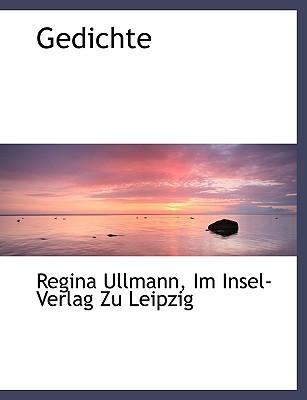 Gedichte (German Edition), Ullmann, Regina