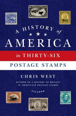 Image for History of America in Thirty-Six Postage Stamps, A