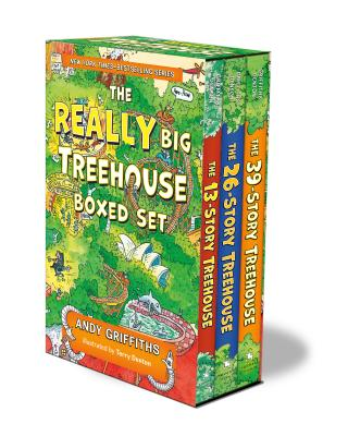 Image for The REALLY Big Treehouse Boxed Set: (The 13-Story Treehouse; The 26-Story Treehouse; The 39-Story Treehouse) (The Treehouse Books)