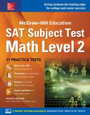 Image for McGraw-Hill Education SAT  Subject Test Math Level 2,  Fourth Edition