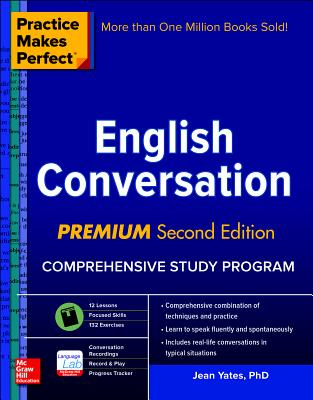 Image for Practice Makes Perfect: English Conversation, Premium Second Edition