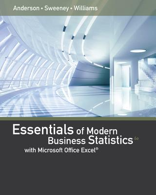 Image for Essentials of Modern Business Statistics with Micr