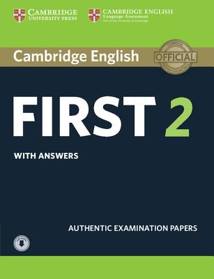Image for Cambridge English First 2 Student's Book with Answers and Audio  Authentic Examination Papers