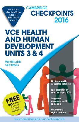 Image for Cambridge Checkpoints VCE Health & Human Development Units 3&4 2016 (print & digital)