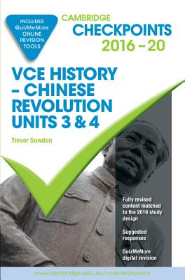 Image for Cambridge Checkpoints VCE History Chinese Revolution 2016-18 and Quiz Me More