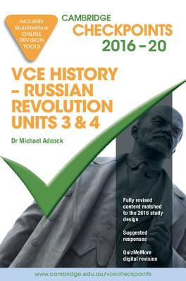 Image for Cambridge Checkpoints VCE History - Russian Revolution 2016-18 and Quiz Me More
