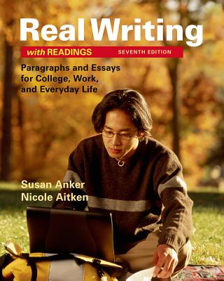 Image for Real Writing with Readings: Paragraphs and Essays