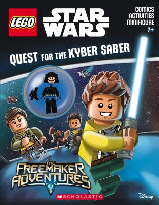 Image for Quest for the Kyber Saber (LEGO Star Wars: Activity Book with Minifigure)
