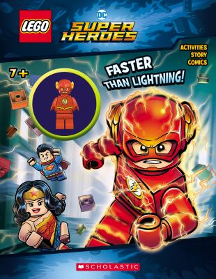 Image for Faster than Lightning! (LEGO DC Comics Super Heroes: Activity Book with Minifigure) (LEGO DC Super Heroes)