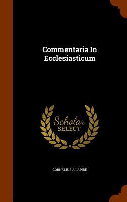 Image for Commentaria In Ecclesiasticum