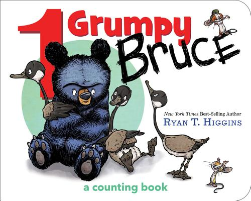 Image for 1 Grumpy Bruce (A Mother Bruce Book): A Counting Board Book (Mother Bruce Series)
