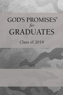 Image for God's Promises for Graduates: Class of 2019 - Silver Camouflage NIV: New International Version