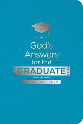 Image for God's Answers for the Graduate: Class of 2019 - Teal NKJV: New King James Version