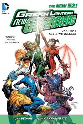 Image for Green Lantern: New Guardians Vol. 1: The Ring Bearer (The New 52)