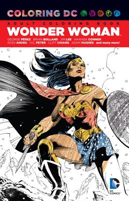 Image for Coloring DC: Wonder Woman