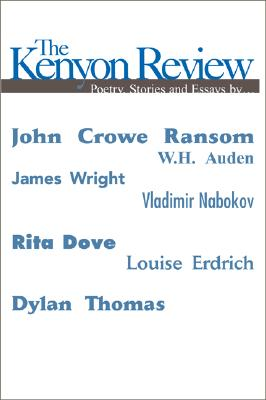 Image for The Best of the Kenyon Review: Poetry, Stories and Essays