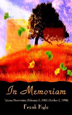 Image for IN MEMORIAM : TATIANA PROSVIRNINA (FEBRUARY 5, 1982-OCTOBER 2, 1998