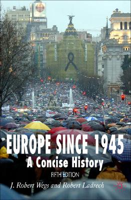 Image for Europe since 1945: A Concise History (Fifth Edition)
