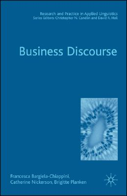 Image for Business Discourse (Research and Practice in Applied Linguistics)