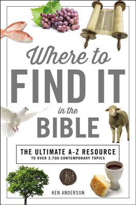 Image for Where to Find It in the Bible (A to Z Series)