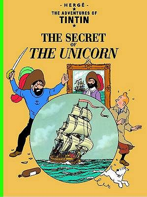 TinTin, The Secret of The Unicorn, Herge