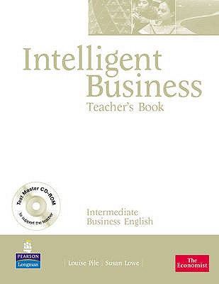 Image for Intelligent Business Intermediate Teachers Book and Test Master CD-Rom Pack
