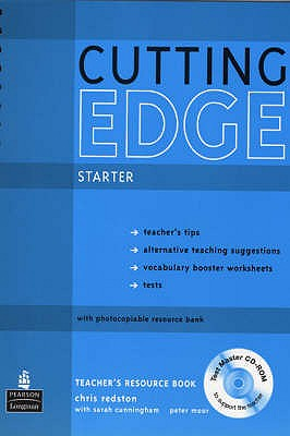 Image for Cutting Edge Starter Teachers Book New Edition and Test Master CD-ROM Pack