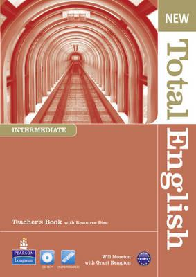 Image for New Total English Intermediate Teacher's Book and Teacher's Resource CD Pack
