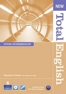 Image for New Total English Upper Intermediate Teacher's Book and Teacher's Resource CD Pack