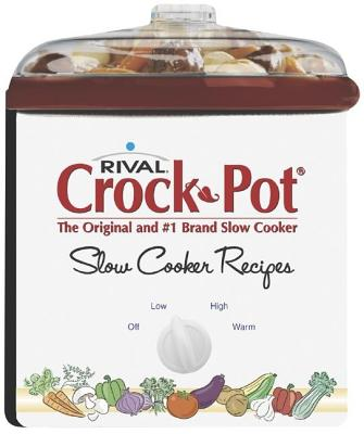 Image for Rival Crock Pot Slow Cooker Recipes (Shaped Board Book)