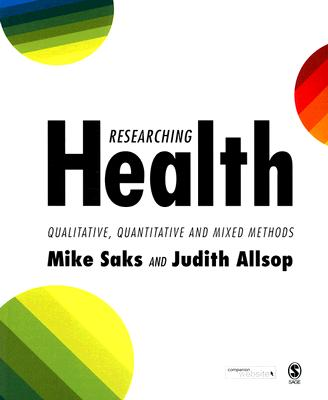 Image for Researching Health: Qualitative, Quantitative and Mixed Methods
