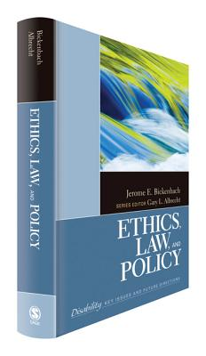 Image for Ethics, Law, and Policy (The SAGE Reference Series on Disability: Key Issues and Future Directions)