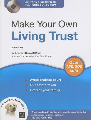 Image for Make Your Own Living Trust (Book & CD-ROM)