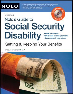 Image for Nolo's Guide to Social Security Disability: Getting & Keeping Your Benefits (including CD)