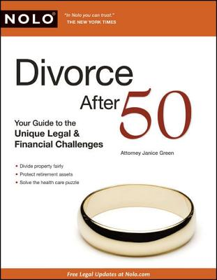 Image for Divorce After 50: Your Guide to the Unique Legal & Financial Challenges